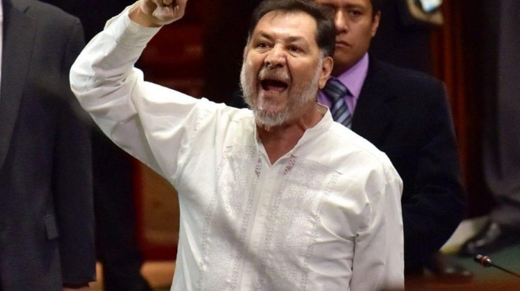 Fernandez Noroña no dirigirá la Cámara de Diputados.