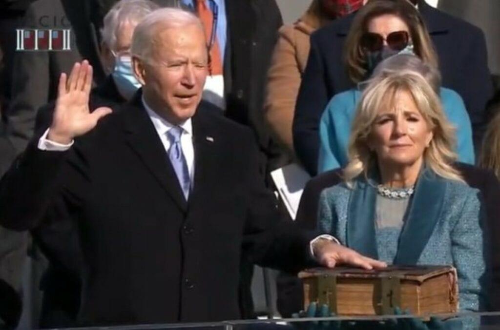 Biden tomó protesta como el Presidente número 46 de Estados Unidos.