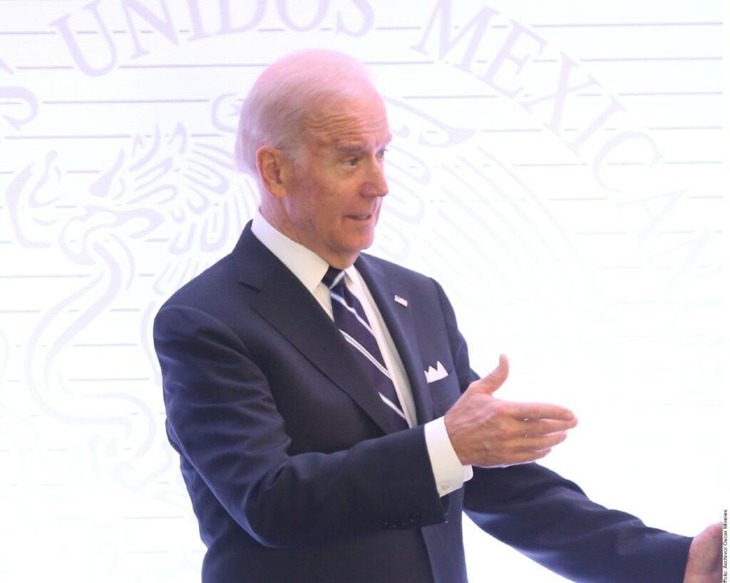 Biden ya comenzó con su trabajo al frente de la Casa Blanca.