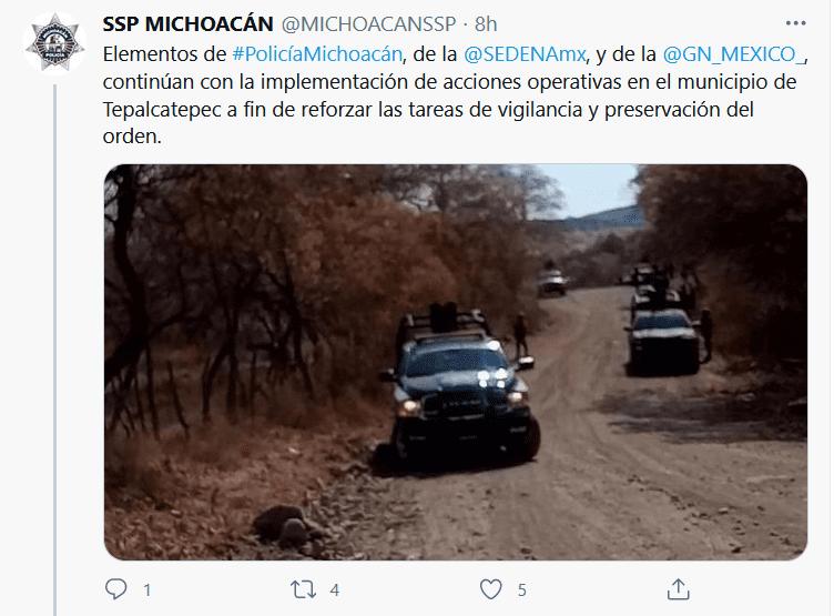 El CJNG iba por 'El Abuelo' en camión blindado; hay 3 muertos (video y fotos)_02