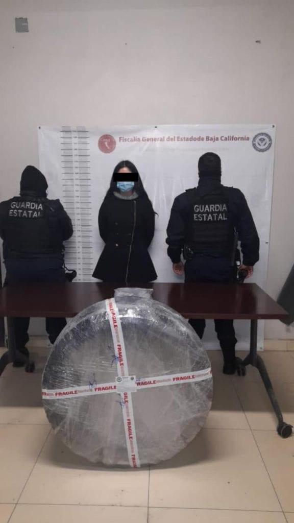Un grupo de elementos de la Guardia Estatal de Seguridad e Investigación (GESI) de Tijuana, Baja California, informaron del decomiso de 11 kilos de cocaína, pero a la Fiscalía General de la República (FGR) le entregaron leche en polvo.