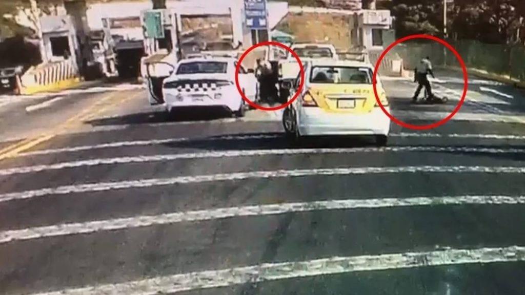 Video 1 muerto y 1 herido durante balacera en caseta
