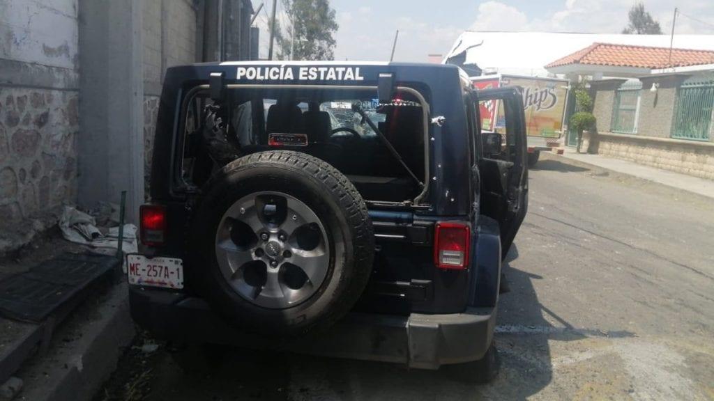 Se reveló una segunda emboscada a policías del Estado de México, ahora en el municipio de Almoloya de Alquisiras, donde fueron asesinados otros cuatro agentes estatales