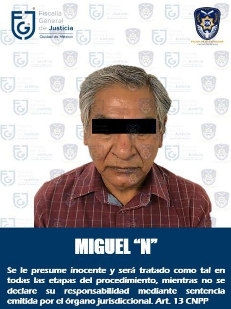 Fue detenido el hombre que fue grabado golpeando a su madre, una adulta mayor de 92 años de edad, en la alcaldía Tlalpan de la Ciudad de México.