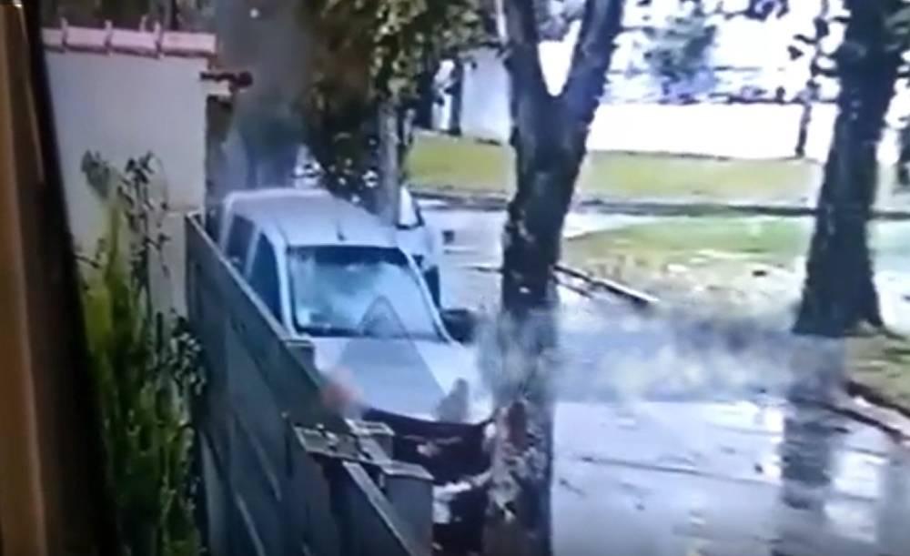 Video: hombre atropella y mata a 2 motoladrones_01