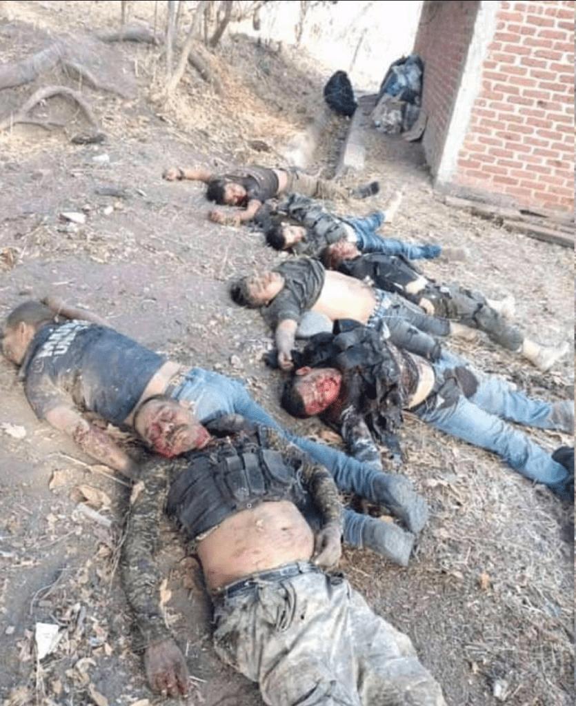 CJNG y Cárteles Unidos se enfrentaron en un combate que dejó al menos 27 muertos_01