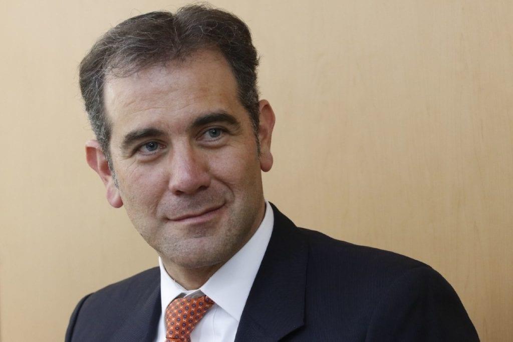 Lorenzo Córdova, presidente del INE.