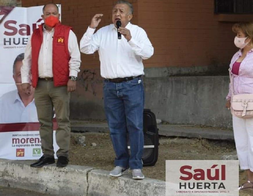 Morena suspendió los derechos de Saúl Huerta.