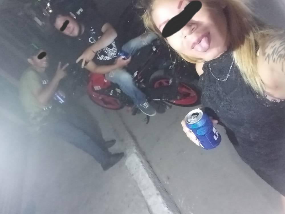 Video: mujer en moto graba el instante en el que choca y muere_02