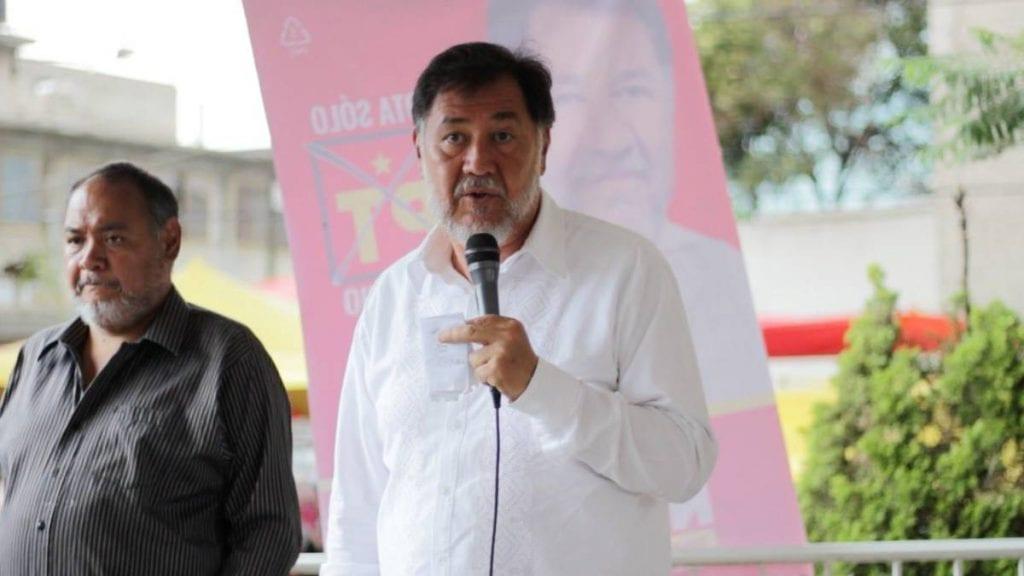 El diputado por el Partido del Trabajo, Gerardo Fernández Noroña, acusó traición y pidió al dirigente del PT en Sinaloa dar una explicación del porqué Gloria González declinó para sumarse a Mario Zamora, candidato a gobernador por el PRI-PAN-PRD.