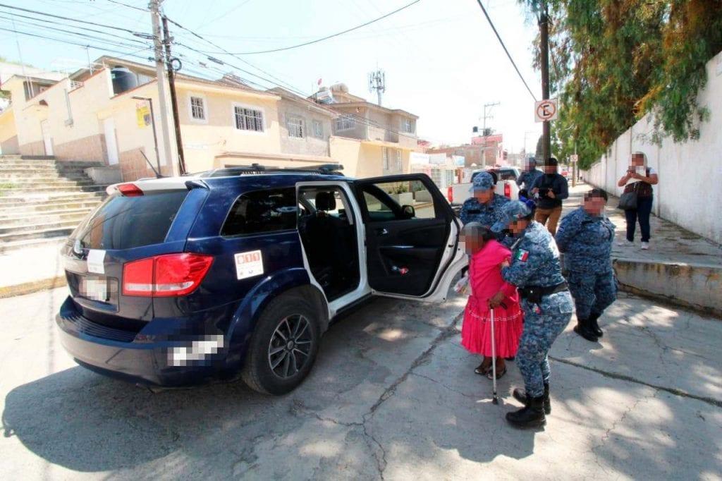 En atención a una denuncia ciudadana, agentes de la Secretaría de Seguridad Pública de Hidalgo rescataron a una mujer, presunta víctima de violencia familiar y explotación, en Pachuca