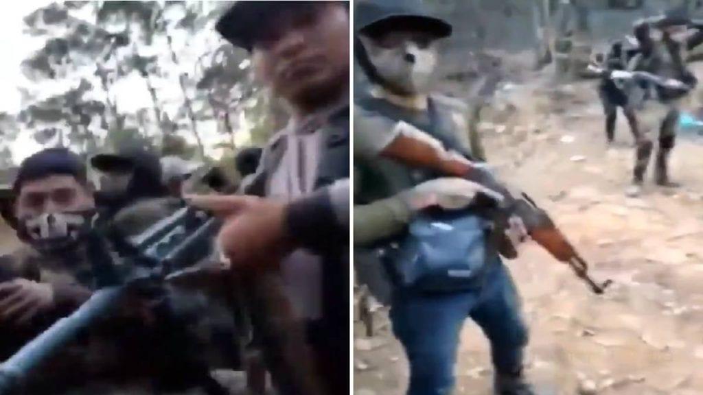 Video 15 sicarios del CDS se graban cantando y luego los acribillan