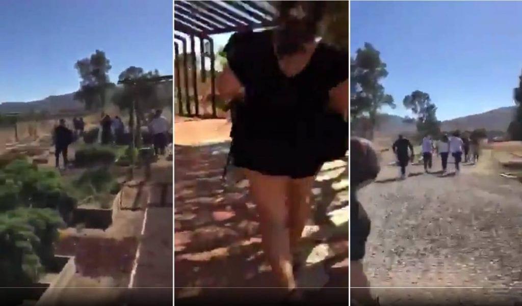Video Cártel de Sinaloa ejecuta a líder del CJNG en Valle de Guadalupe