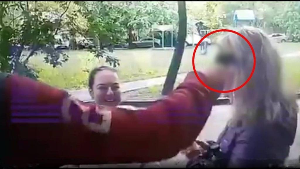 Video hombre dispara bala de salva en la frente de una mujer y puede ir a prisión