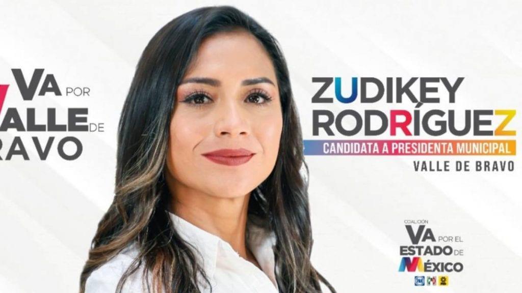 Zudikey Rodríguez prefiere a su familia que impugnar elecciones en Valle de Bravo