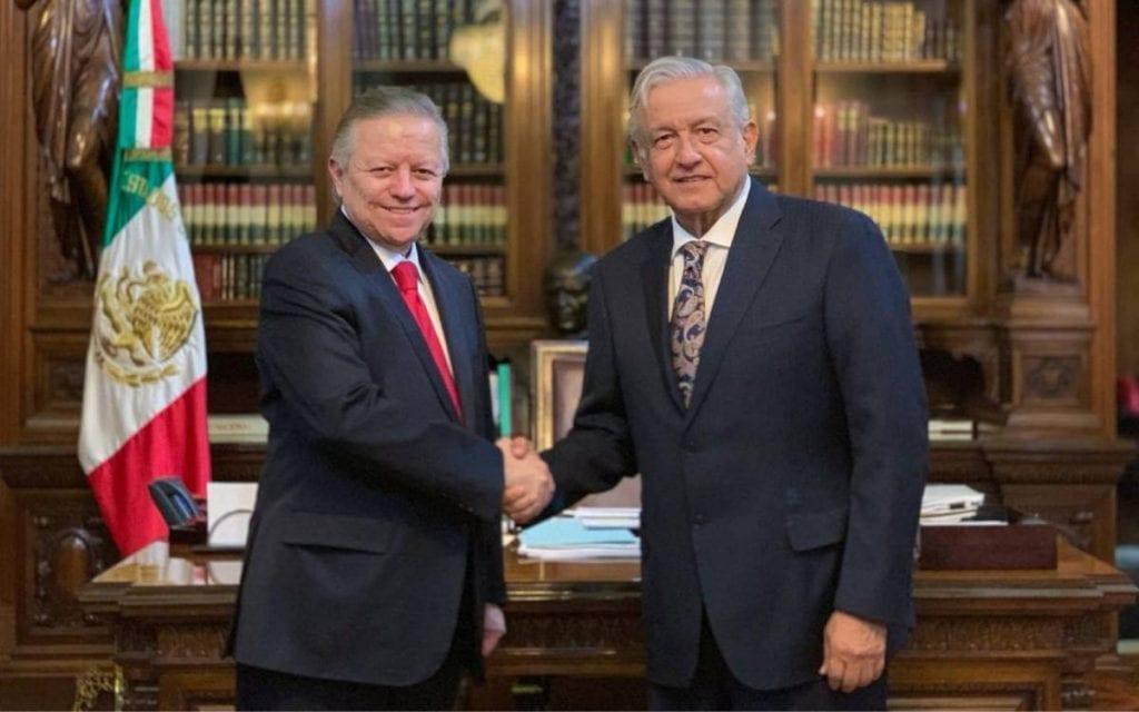 AMLO, Zaldívar y SCJN.