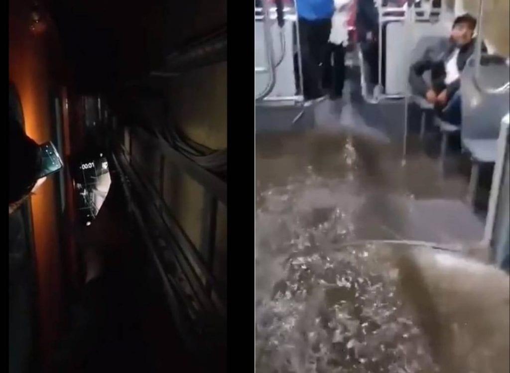 La mañana de este lunes, el servicio en la Línea A del Sistema de Transporte Colectivo (STC) Metro fue parcial, pues opera con servicio provisional de la estación Pantitlán a Guelatao, mientras que de la estación Peñon Viejo a La Paz, se suspendió por anegaciones originadas por las lluvias