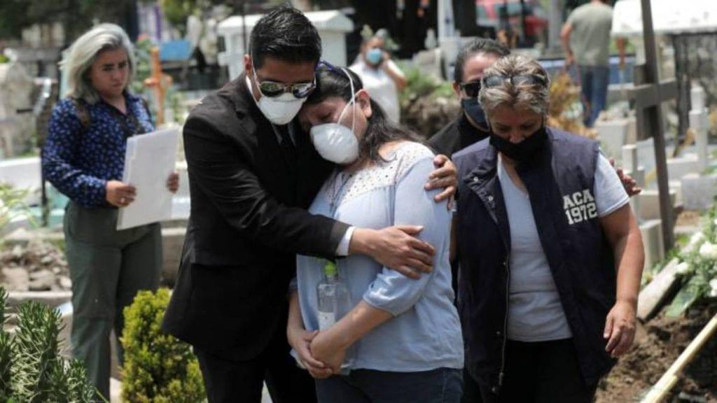 Este es el tercer día consecutivo en que México se encuentra por encima de los nueve mil contagios diarios por coronavirus.