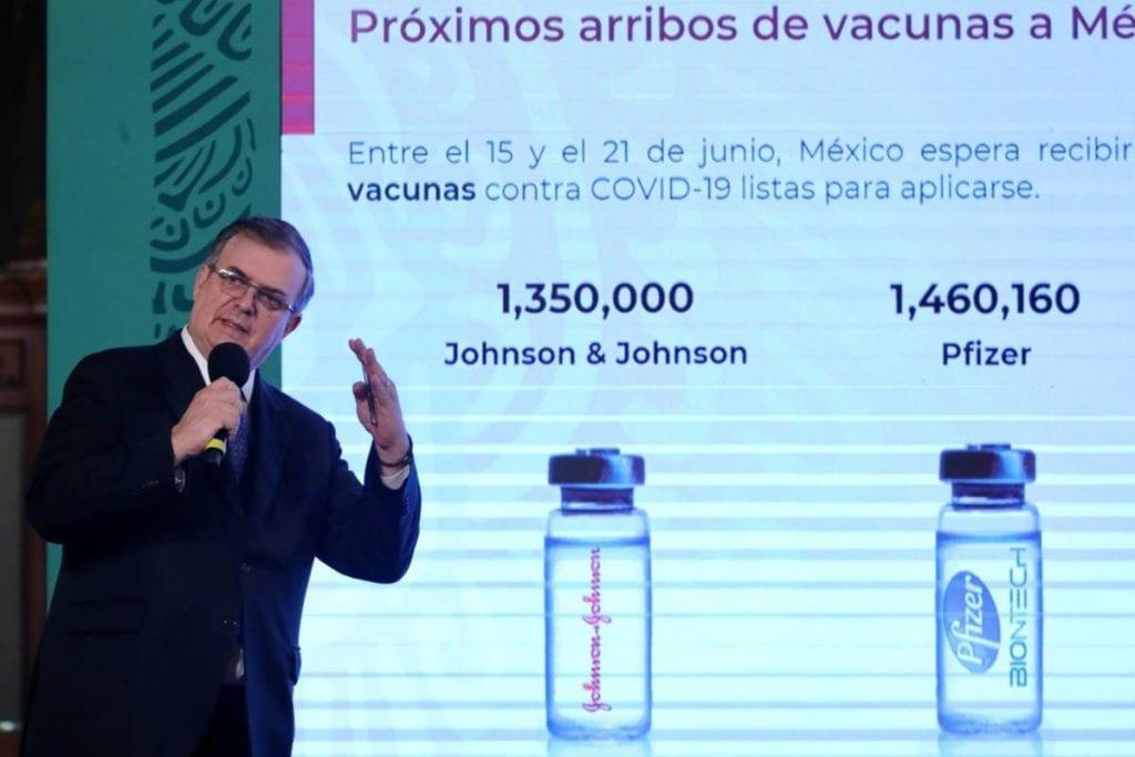 El secretario de Relaciones Exteriores, Marcelo Ebrard, dio a conocer que las autoridades sanitarias de México aprobarán en poco tiempo la vacuna de Moderna contra el Covid-19