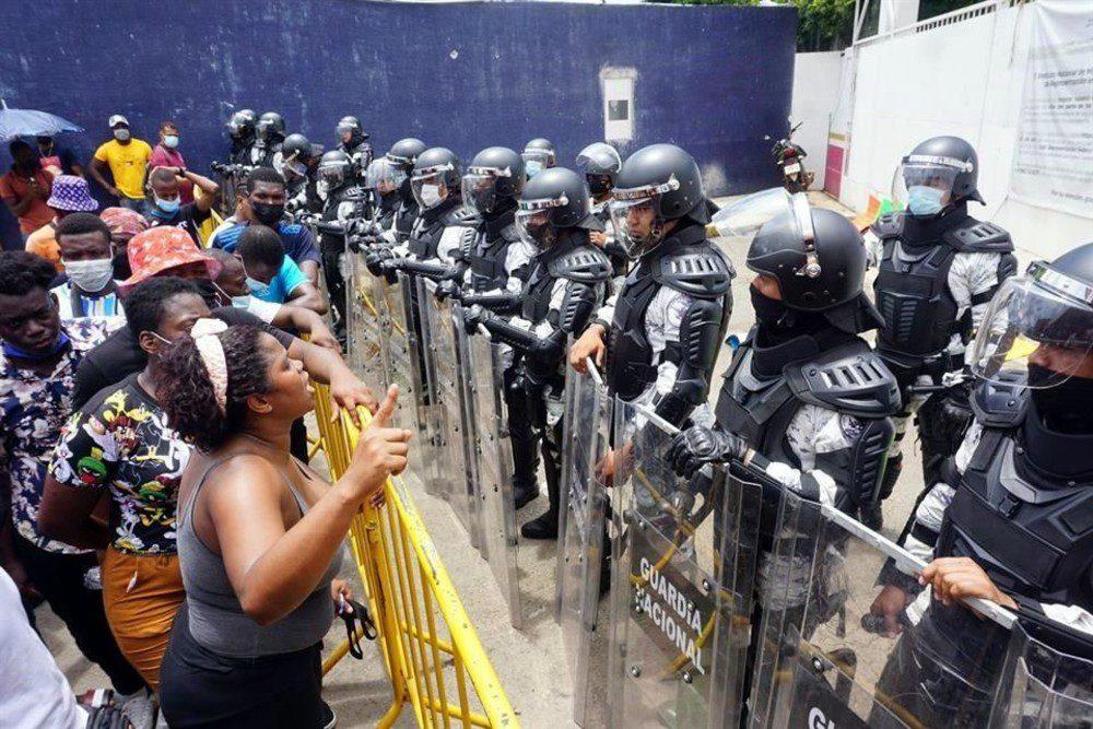 Migrantes en Tapachula