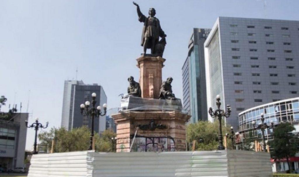 estatua-colon-reforma-sheinbaum