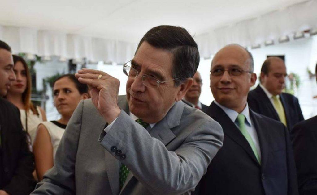 """Antonio Gómez Pelegrín, Secretario de Finanzas del gobierno deJavier Duarte de Ochoa, Antonio """"N"""", fue detenido señalado de diversospresuntos delitos."""